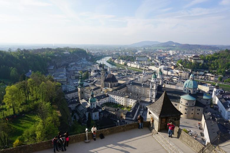 salzburg-fortress-austria-Festung Hohensalzburg